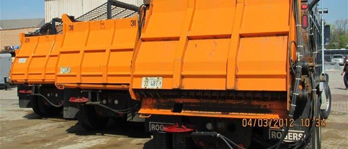 Large Snow Salting Equipment