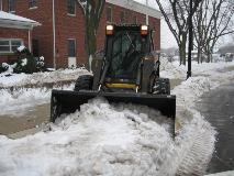 Large Snow Removal Fleet