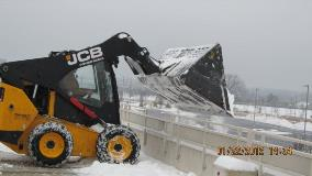 Parking Deck Snow Removal