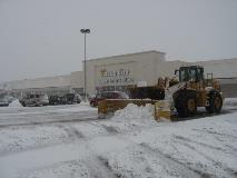 Shopping Center Snow Removal