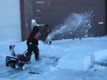 Snow Blowing and Hand Shoveling