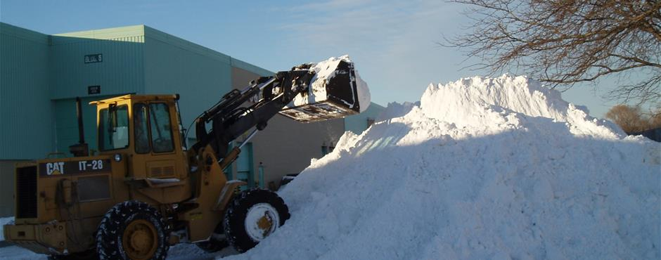 Snow Hauling and Piling